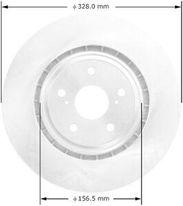 Disc Brake Rotor-Premium Brake Rotor Front Bendix PRT5798