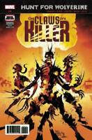 Hunt for Wolverine The Claws of a Killer #4 Marvel Comic 1st Print 2018 NM