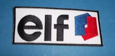 elf  MOTOR SPORT RACING SEW OR IRON ON PATCH