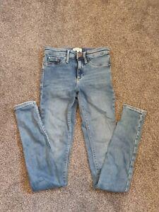 River Island Skinny Jeans Uk 6 Long