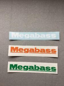 "Megabass Fishing 8"" Vinyl Decal (Choose Color)"