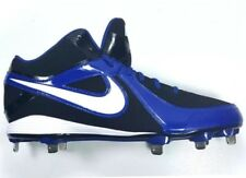 Nike MVP Strike Low Metal Baseball Cleats Metal Bottom Blue Black Men Size 13