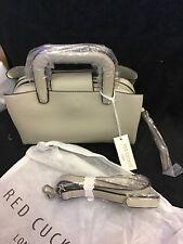red cuckoo handbag ( Silver)