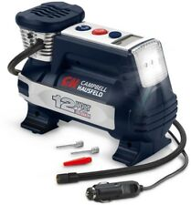Portable Digital Inflator 100-PSI 12-Volt with Automatic Shut-off and LED Light