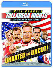 TALLADEGA NIGHTS unrated version - BLU-RAY - REGION B UK