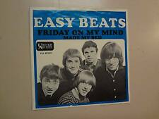 """EASYBEATS:Friday On My Mind-Made My Bed-Norway 7"""" 66 United Artists Records PSL"""