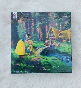 "Disney Ceaco Snow White & Seven Dwarfs Puzzle ""A Sweet Goodbye"" 550 Pc 24"" X 18"""