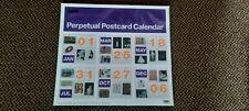 More details for rare tate british modern art calender perpetual postcard wall calendar