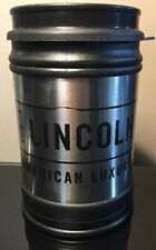 Lincoln Ford Stanley 16 oz Travel Coffee Cup Stainless Steel Mug W Lid