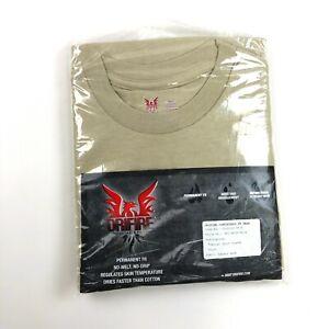 Drifire FR Short Sleeve Shirt Sand Tan Flame Resistant Tactical Top SMALL
