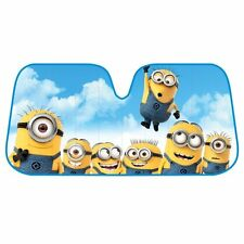 New Despicable Me Minion Car Truck Windshield Folding Front Window Sun Shade