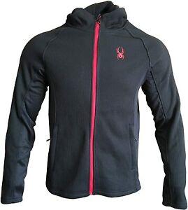 Spyder Men's Constant Full Zip Hooded Jacket, Color Options