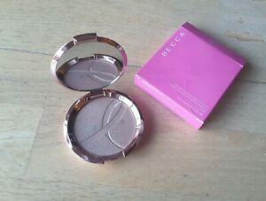 BECCA Opal Shimmering Skin Perfector Pressed highlighter 8g rose packaging BNIB