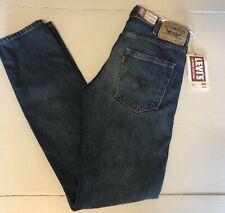 "NWT! Levi's 606 Big E Orange Tab Men's Denim Jeans Sz 28""x34"""