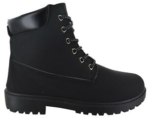 GIRLS WOMENS WINTER HIKING TRAINER LADIES GRIP SOLE ANKLE BOOTS SHOES SIZES 3-7