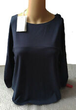 Armani Collezioni women's navy top size 36IT - Made in Italy