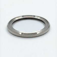 POLISHED STAINLESS STEEL (COIN EDGE) BEZEL FOR SEIKO NEW TURTLE WATCHES