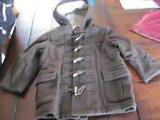 BABY GAP BOY'S Toggle Brown Fall Winter Coat Jacket size 5 years