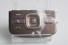 Original Nokia 6710 Navigator función teclado teclas marrón maletero teclado numérico Brown