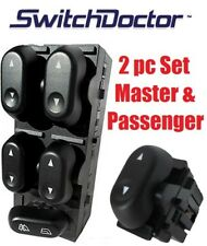 NEW 2004-2008 Ford F-150 Window Master Switch and Passenger Switch Set