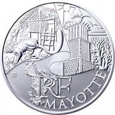 Mayotte 2011 - 10 Euro des Régions en Argent