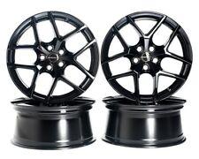 4x BORBET Y Felgen Black Glossy 8x18 Zoll ET48 5x112 Audi VW Seat Skoda