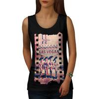 Wellcoda Welcome To Las Vegas Womens Tank Top, Nevada Athletic Sports Shirt