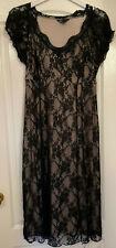 Black lacy design Dress by Glamorosa