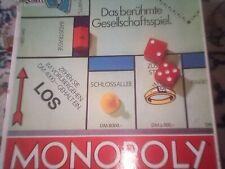Monopoly Classic DM Version alte Ausgabe Parker 1985, komplett, Made in France