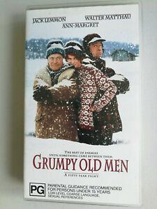 Grumpy Old Men VHS Jack Lemmon, Ann-Margret, Walter Matthau VGC