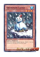 YUGIOH x 3 Snowman Eater - Common - SDRE-EN016 (1st Edition) Mint
