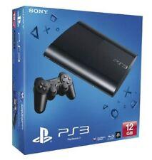PS3 PLAYSTATION 3 - CONSOLE SUPER SLIM + 4 GIOCHI A SCELTA - GARANZIA 1 ANNO