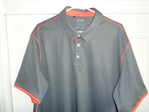 Adidas ClimaCool XXL Poly Golf Polo Shirt - NICE!!