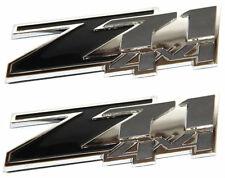 (2) Z71 4x4 Black Emblems 3M Chevy GMC Silverado Tahoe Suburban Sierra