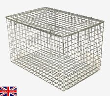 Wire cat carrier STURDY SECONDS cat basket rabbit rodent carrier UK Made TrapMan