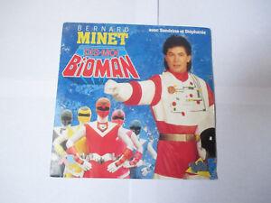 générique Bioman dis moi - Bernard Minet - vinyle 45 tours
