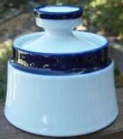 NORITAKE  FJORD  SUGAR  BOWL  WITH  LID  great condition
