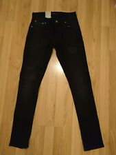 tight antifit NUOVO Nudie Jeans tight Terry Deep Black 28//32