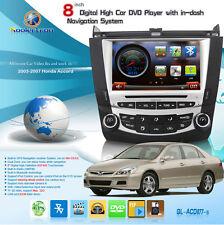 Koolertron Autoradio DVD GPS Satnav stéréo autoradio pour Honda Accord 2003-2007