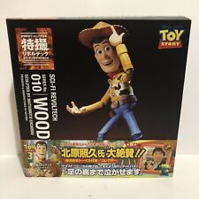 Figurine Sci-fi Revoltech 010 Toy Story Woody Authentic