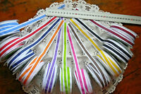Grosgrain Scalloped Ribbon Printed 14-15mm wide 3 Metre 11 Colour Choice ALD13