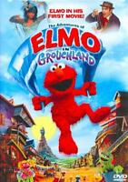 THE ADVENTURES OF ELMO IN GROUCHLAND USED - VERY GOOD DVD