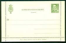 DENMARK 15ore #94 Letter card (57) unused VF