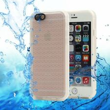 Waterproof DIRTPROOF Shockproof Thin Tough Case Cover for iPhone 7 8 Plus 6s 5 X iPhone 6 | 6s Clear