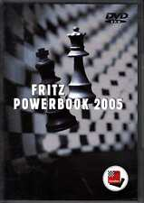 Fritz Powerbook 2005 ChessBase Chess Computer Software DVD Rom