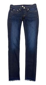 RAG & BONE Skinny Jeans The Legging Pants Womens Size 26 Dark Blue Denim