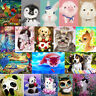 Cute Animals DIY 5D Diamond Embroidery Painting Cross Stitch Home Decor Craft