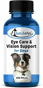 BestLife4PetsEye CareVision Support Dog Infection Conjunctivitis Treatment 450p