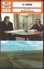 LE CAMION - Marguerite Duras,Gérard Depardieu (Fiche Cinéma) 1977 - The Truck