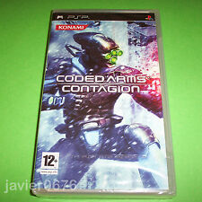 CODED ARMS CONTAGION NUEVO Y PRECINTADO PAL ESPAÑA PLAYSTATION PSP